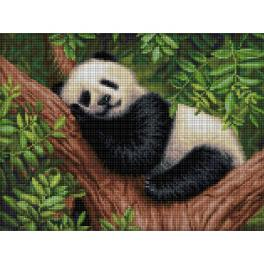 M AZ-1826 Zestaw do diamond painting - Śpiąca panda