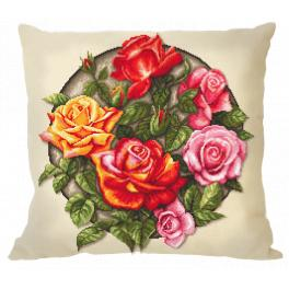 GU 10649-01 Wzór graficzny - Poduszka - Róże