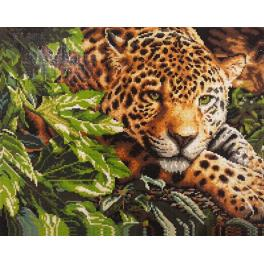 PD4050001 Zestaw do diamond painting - Jaguar
