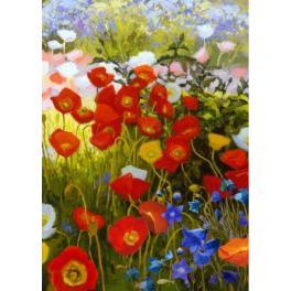ZTDE 7109 Zestaw do diamond painting - Kwiatowy dywan
