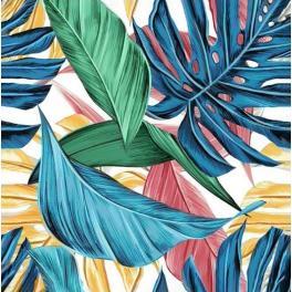 ZTDE 7101 Zestaw do diamond painting - Tropikalne liście