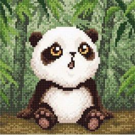 ZMC-001 Zestaw do diamond painting - Mała panda