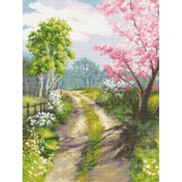 GC 10311 Wzór graficzny - Gdy budzi się wiosna