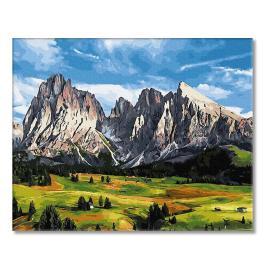 PC4050557 Malowanie po numerach - Trzy światy piękna
