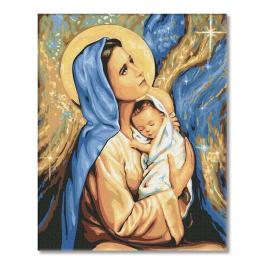 PC4050558 Malowanie po numerach - Święta Boża Rodzicielka Maryja