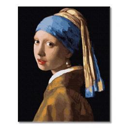PC4050731 Malowanie po numerach - Dziewczyna z perłą, J. Vermeer