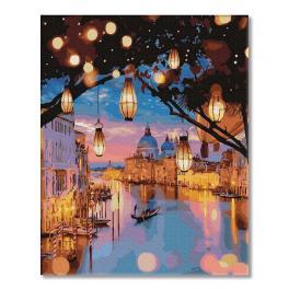 PC4050480 Malowanie po numerach - Lampki nocne Wenecji