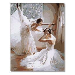PC4050019 Malowanie po numerach - Baletnice