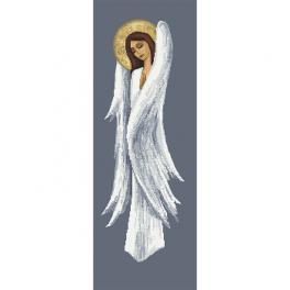 W 10455 Wzór do haftu PDF - Zadumany anioł