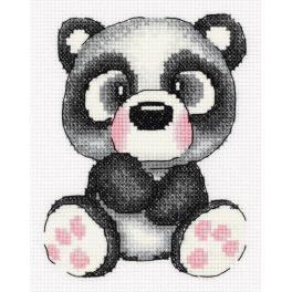 PA 8-372 Zestaw do haftu - Panda Gigi