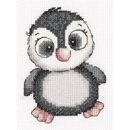 PA 8-369 Zestaw do haftu - Pingwinek Kiki