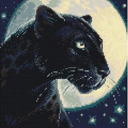 RIO AM0045 Zestaw do diamond painting - Czarna pantera
