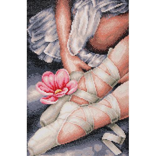 LPN-0188131 Zestaw do diamond painting - Moje małe buciki baletnicy