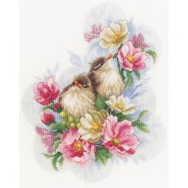 LPN-0185003 Zestaw do haftu - Strażnicy kwiatowej gałązki