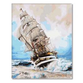 PC4050553 Malowanie po numerach - W kierunku wiatru