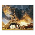 PC4050296 Malowanie po numerach - Pod niebem Paryża