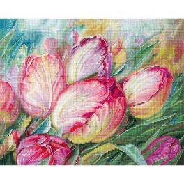 SANT-16 Zestaw do haftu - Tulipany