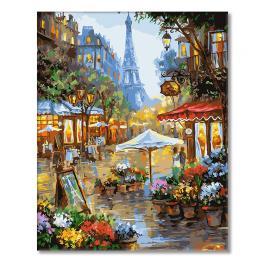 GX25578 Malowanie po numerach - Uliczki Paryża