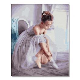 GX33063 Malowanie po numerach - Mała baletnica