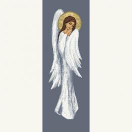 GC 10465 Wzór do haftu drukowany - Rozmarzony anioł