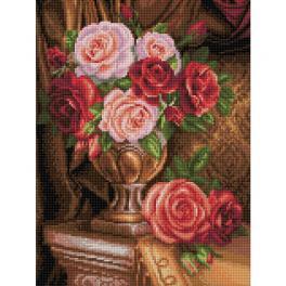 M AZ-1731 Zestaw do diamond painting - Nobliwe róże