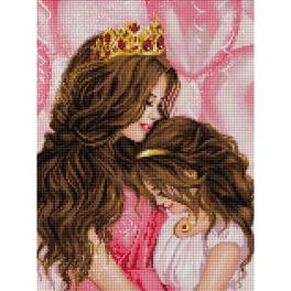 M AZ-1691 Zestaw do diamond painting - Moja księżniczka