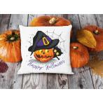 GU 10475 Wzór do haftu drukowany - Poduszka - Wesołego Halloween