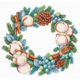 SANA-06 Zestaw do haftu - Zimowy aromat